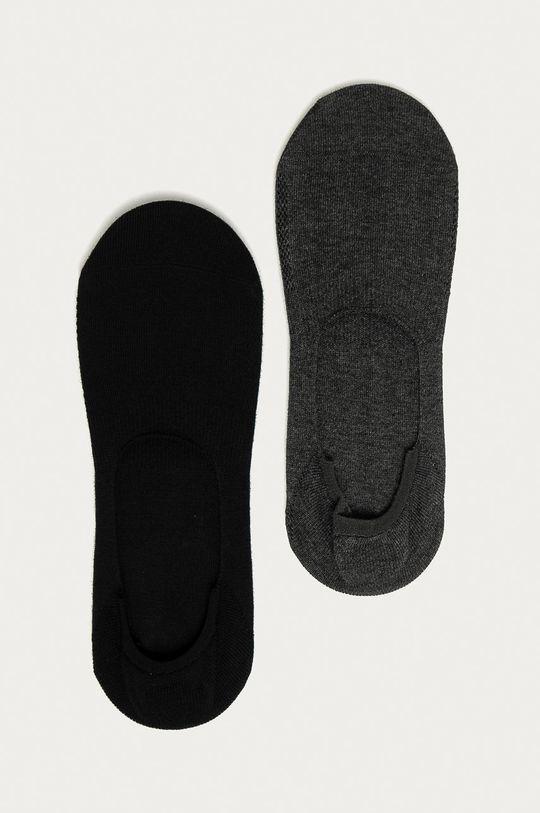grafitová Levi's - Členkové ponožky (2-pak) Unisex