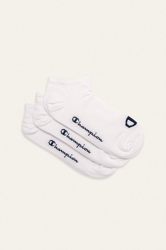 biały Champion - Stopki (3-pack) Unisex