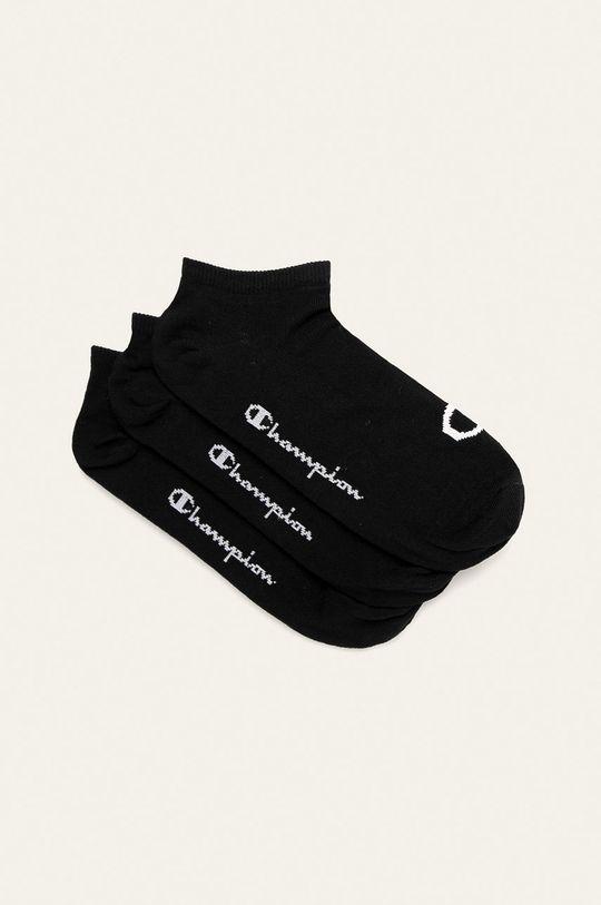 černá Champion - Kotníkové ponožky (3-pack) Unisex