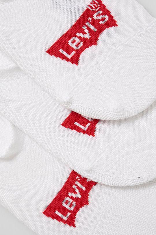 Levi's - Ponožky (3-pak) biela