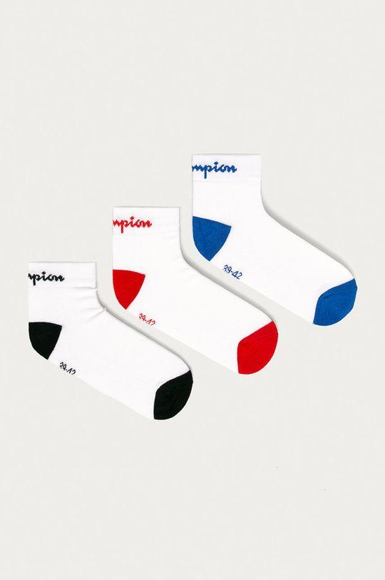 biały Champion - Skarpetki (3-pack) Unisex