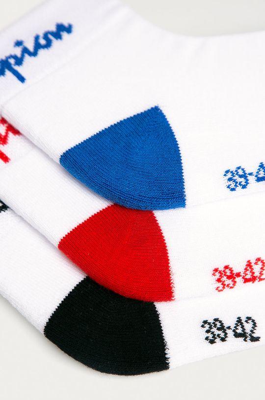 Champion - Skarpetki (3-pack) biały