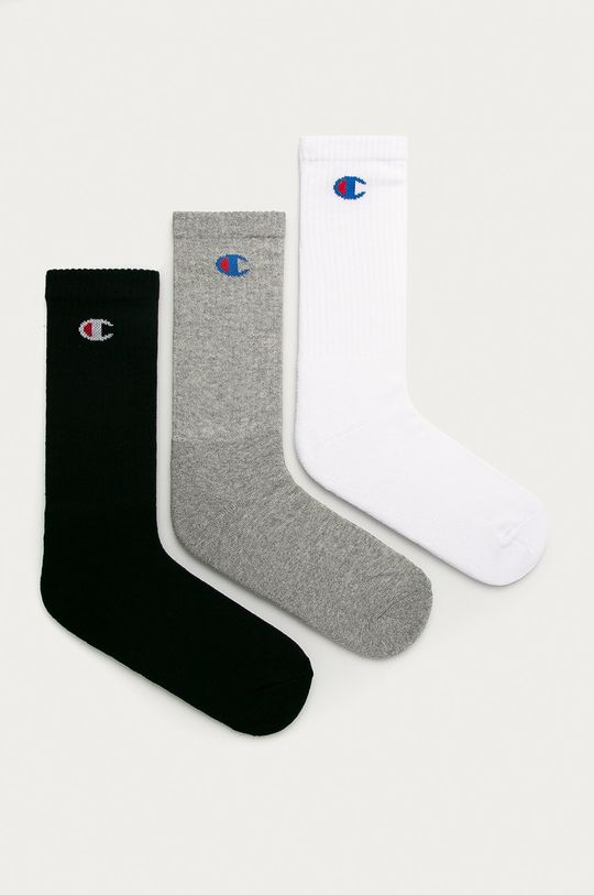 šedá Champion - Ponožky (3-pack) Unisex