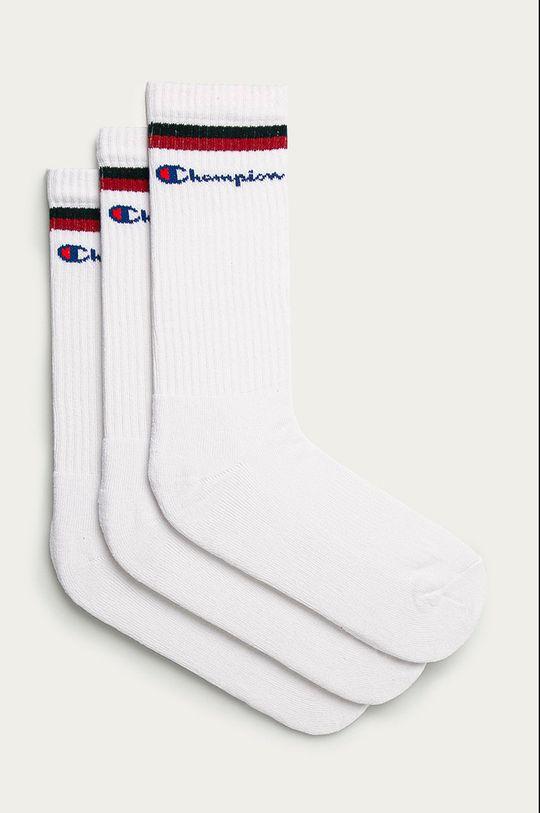 bílá Champion - Ponožky (3-pack) Unisex
