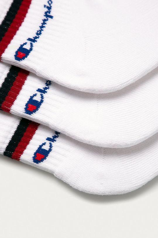 Champion - Ponožky (3-pack) bílá