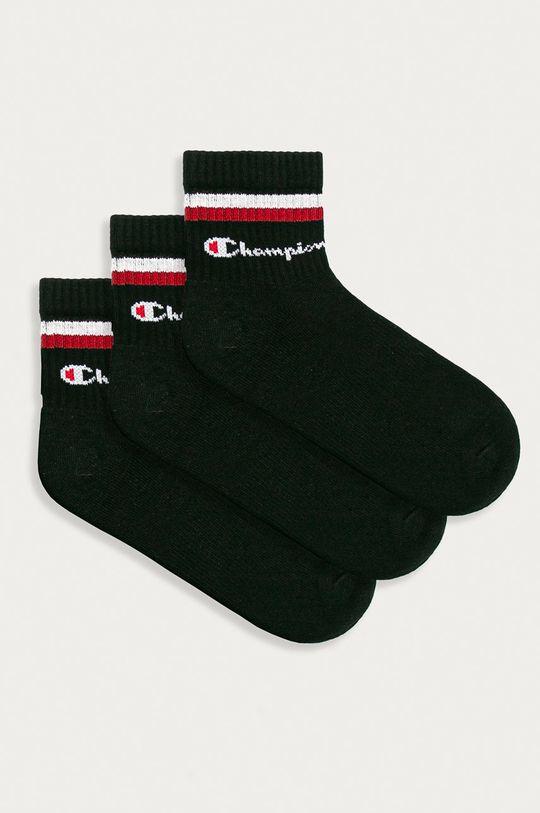 černá Champion - Ponožky (3-pack) Unisex