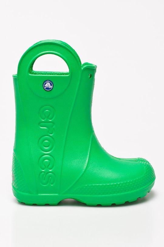 zelená Crocs - Dětské holínky Chlapecký