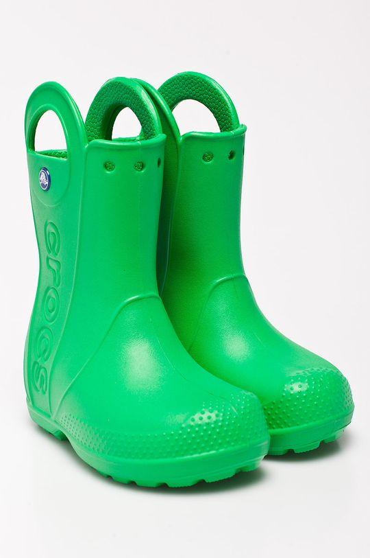 Crocs - Dětské holínky zelená