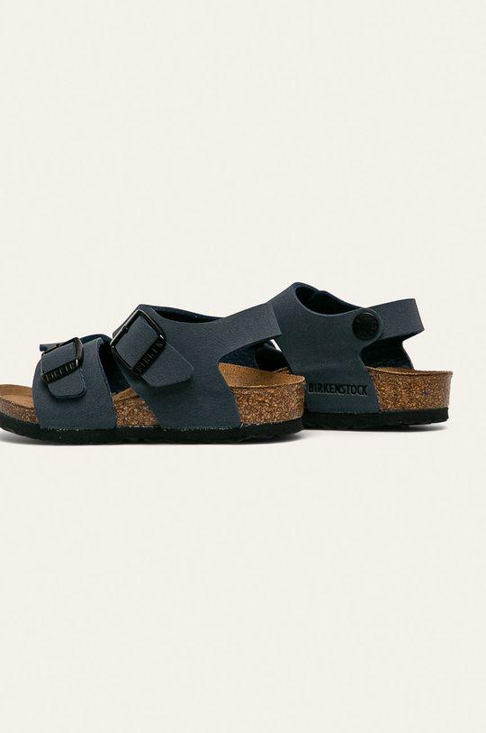 Birkenstock - Detské sandále New York  Zvršok: Syntetická látka Vnútro: Textil, Prírodná koža Podrážka: Syntetická látka