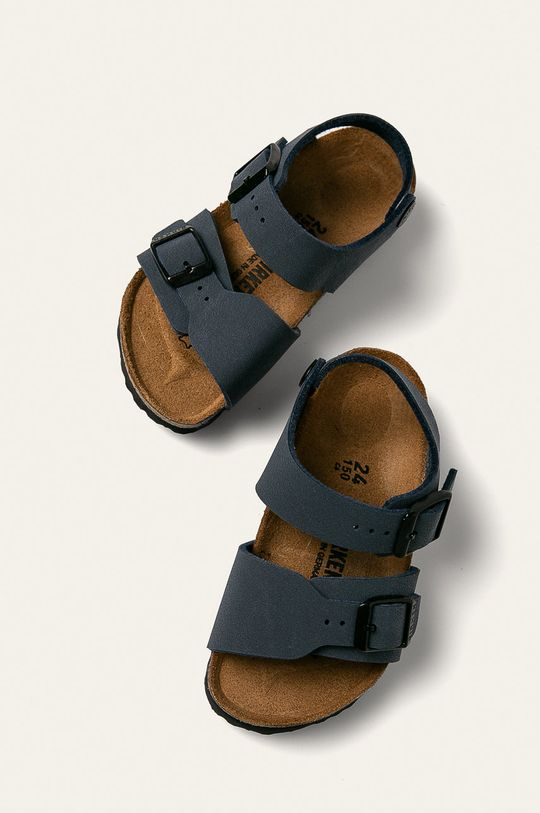 tmavomodrá Birkenstock - Detské sandále New York