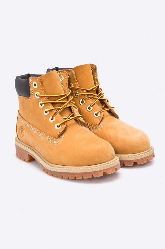 Timberland - Dětské boty 6 In Premium WP Boot žlutá