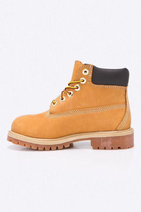 Timberland - Dětské boty 6 In Premium WP Boot Svršek: Přírodní kůže Vnitřek: Textilní materiál Podrážka: Umělá hmota