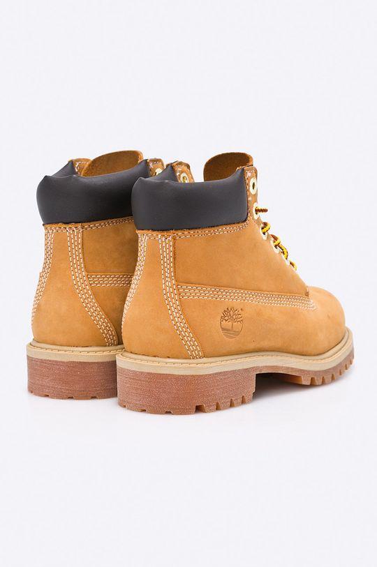 žlutá Timberland - Dětské boty 6 In Premium WP Boot