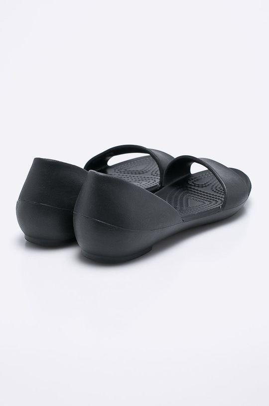 negru Crocs - Balerini