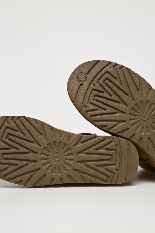 UGG - Topánky Mini Bailey Bow II <p>Zvršok: Ovčia koža Vnútro: Prírodná kožušina Podrážka: Syntetická látka</p>