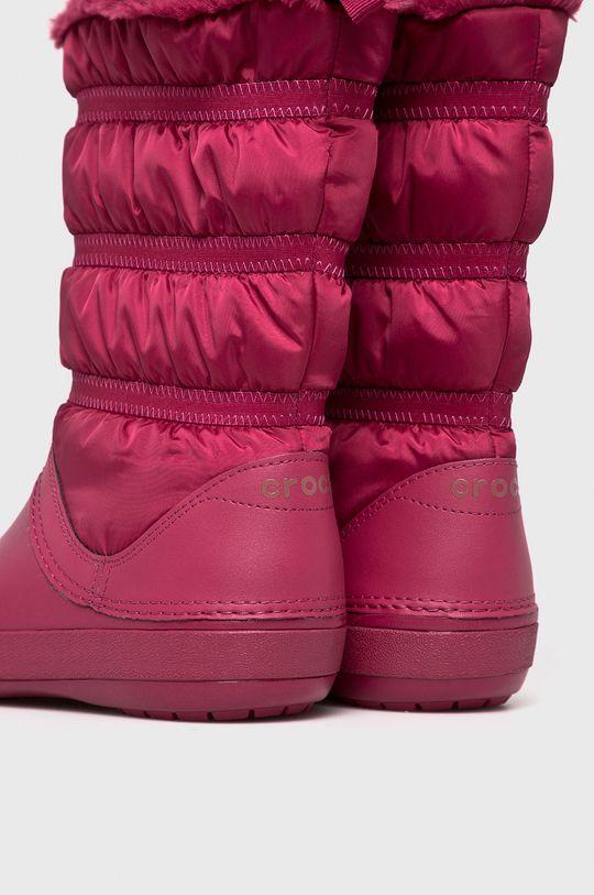 Crocs - Śniegowce Cholewka: Materiał tekstylny, Wnętrze: Materiał tekstylny, Podeszwa: Materiał syntetyczny,