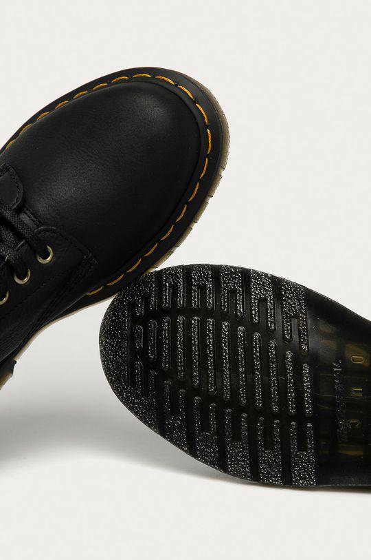 černá Dr. Martens - Kožené kotníkové boty 1460 Pascal Fl