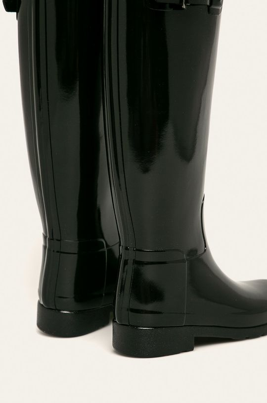 czarny Hunter - Kalosze Original Refined Gloss