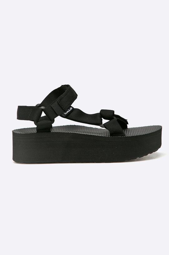 čierna Teva - Sandále Flatform Universal BLK Dámsky