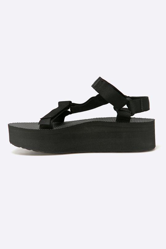 Teva - Sandále Flatform Universal BLK <p>Zvršok: Textil Vnútro: Textil Podrážka: Syntetická látka</p>