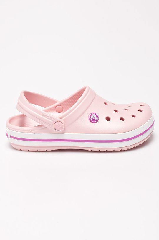 růžová Crocs - Pantofle Dámský