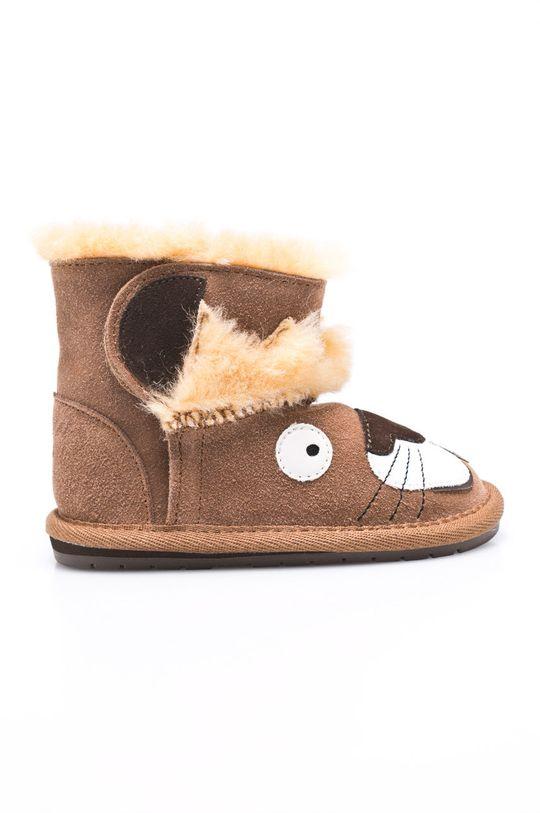 maro Emu Australia - Pantofi copii Leo Lion De fete