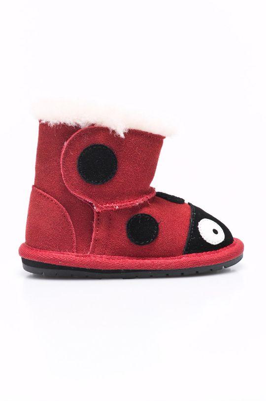rosu Emu Australia - Pantofi copii Ladybird De fete