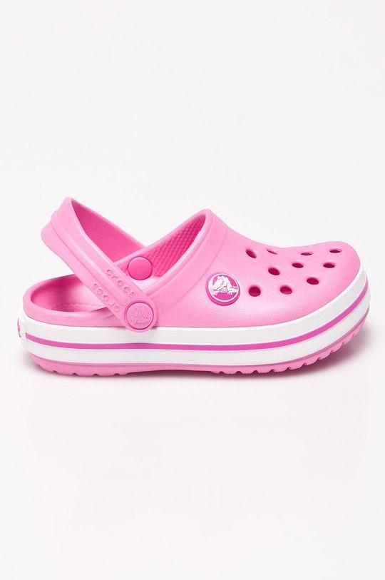 ostrá růžová Crocs - Dětské sandály Dívčí