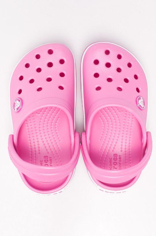 Crocs - Dětské sandály ostrá růžová