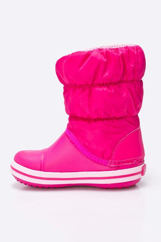 Crocs - Zimní boty dětské Svršek: Textilní materiál Vnitřek: Textilní materiál Podrážka: Umělá hmota