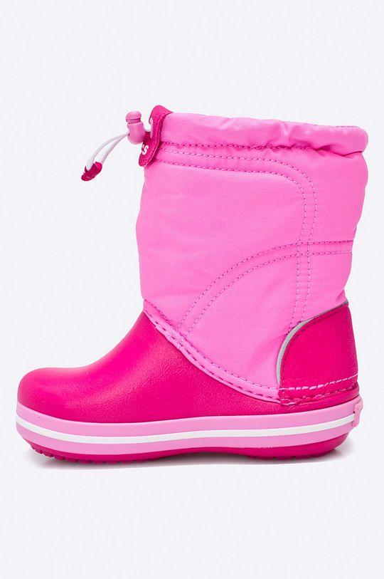 Crocs - Дитячі зимові черевики  Халяви: Синтетичний матеріал, Текстильний матеріал Внутрішня частина: Текстильний матеріал Підошва: Синтетичний матеріал