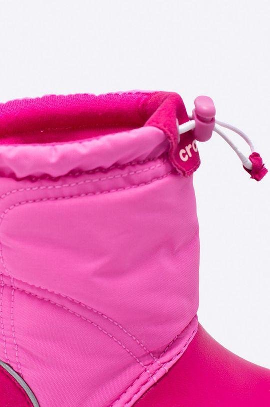 Crocs - Дитячі зимові черевики Для дівчаток