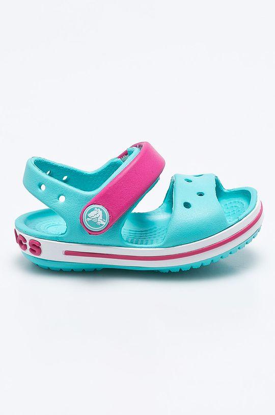 světle modrá Crocs - Dětské sandály Dívčí
