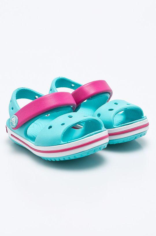Crocs - Dětské sandály světle modrá