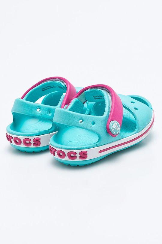 světle modrá Crocs - Dětské sandály