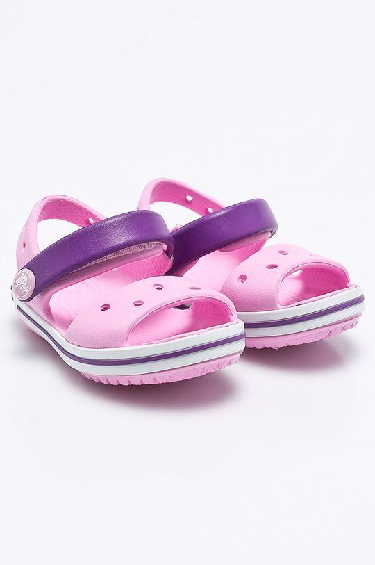 Crocs - Sandały dziecięce różowy