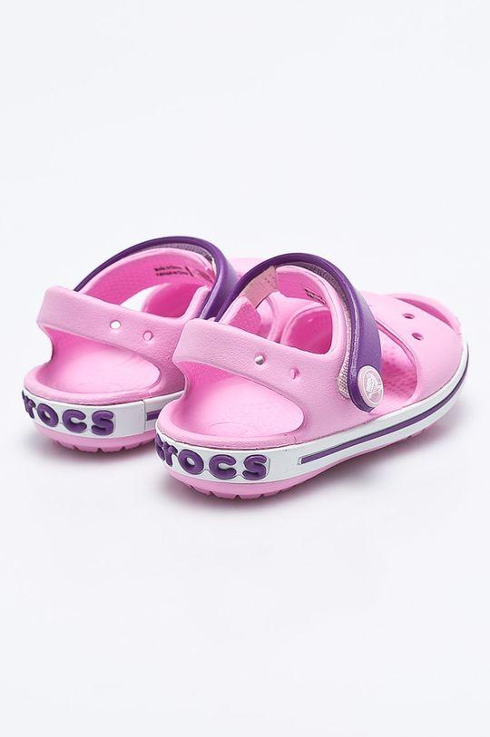różowy Crocs - Sandały dziecięce