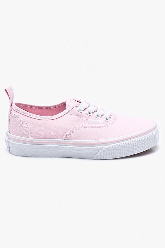 růžová Vans - Dětské tenisky Authentic Elastic Dívčí