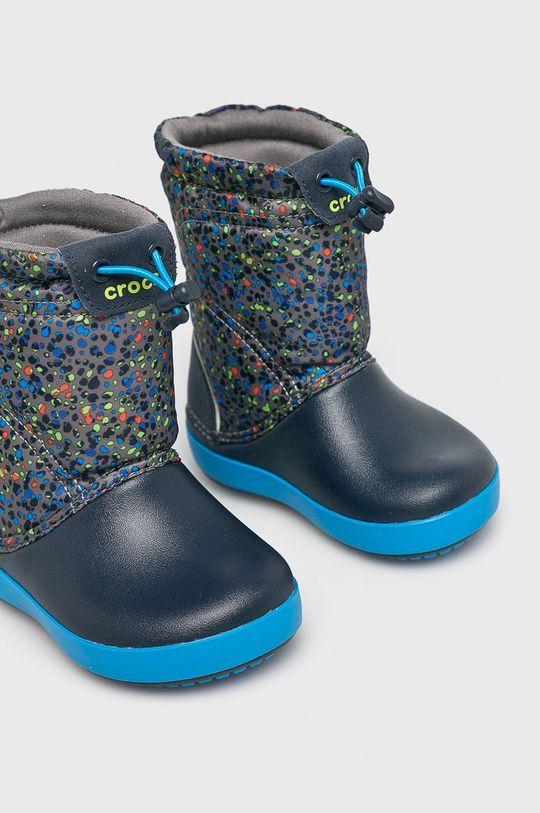 Crocs - Dětské sněhule námořnická modř