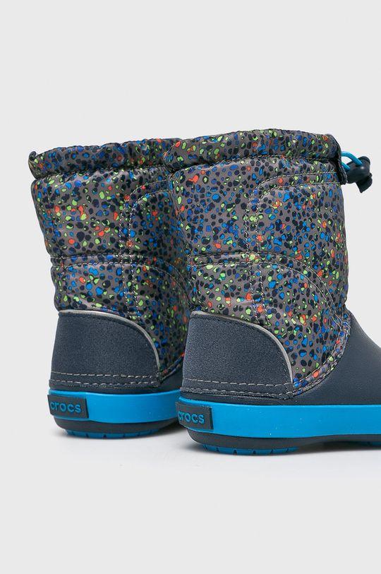 námořnická modř Crocs - Dětské sněhule