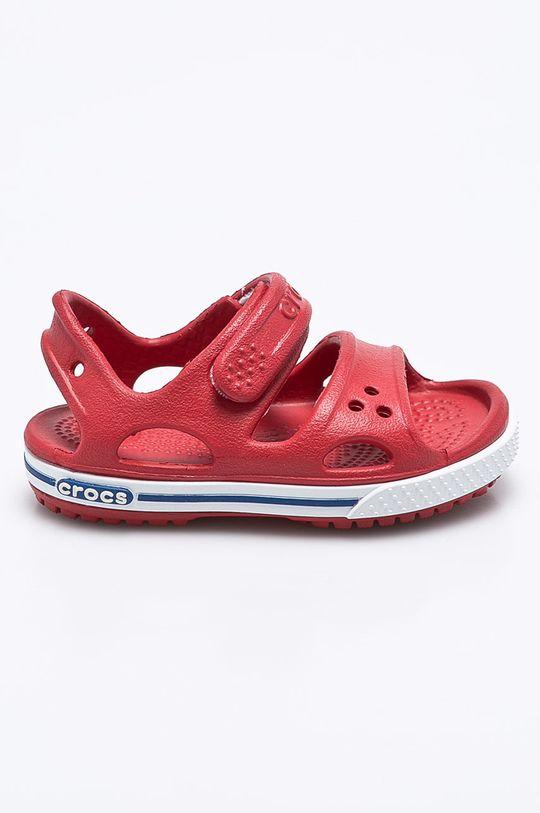ostrá červená Crocs - Dětské sandály Dětský