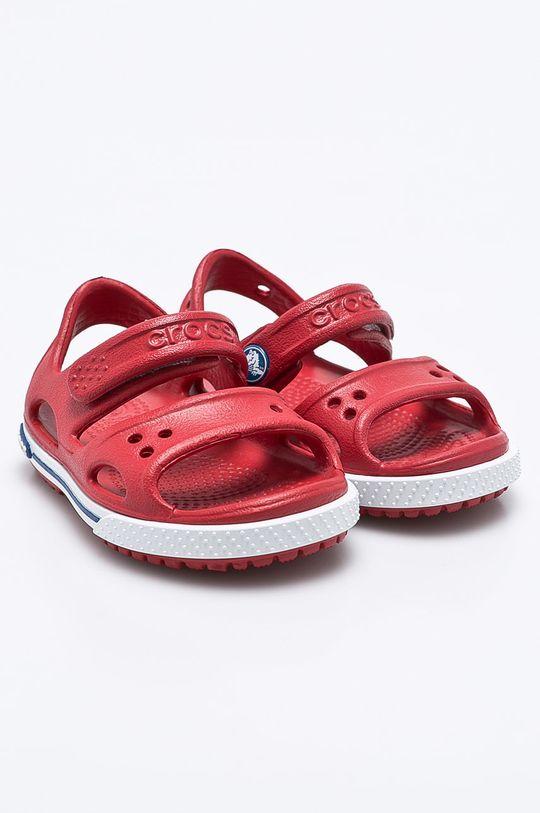 Crocs - Dětské sandály ostrá červená