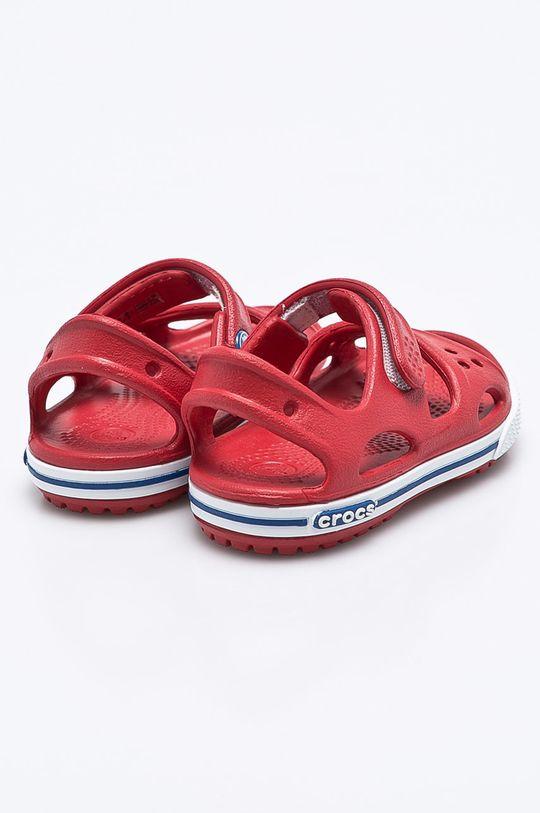 ostrá červená Crocs - Dětské sandály