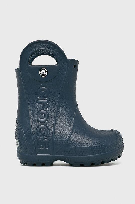 темно-синій Crocs - Дитячі гумові чоботи Дитячий