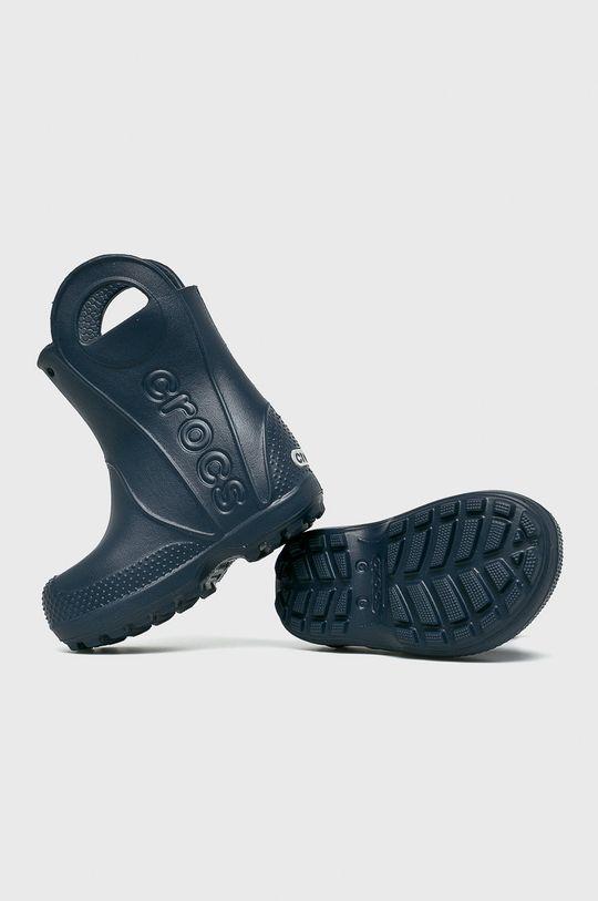 темно-синій Crocs - Дитячі гумові чоботи