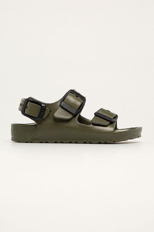 tmavě zelená Birkenstock - Dětské sandály Milano Dětský