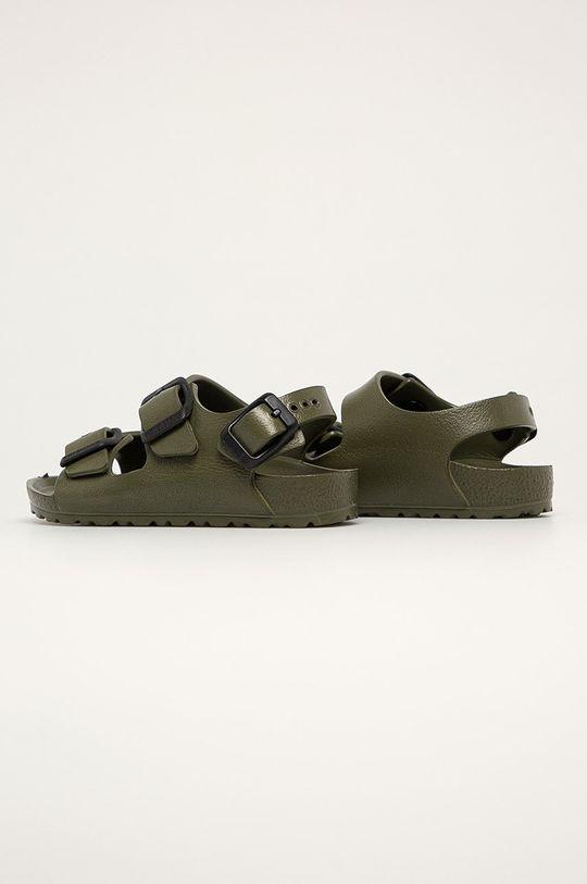 tmavě zelená Birkenstock - Dětské sandály Milano