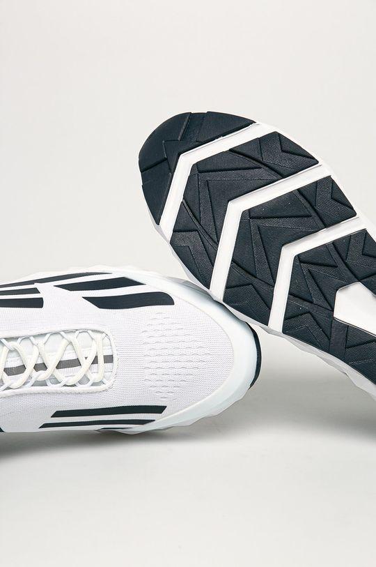 alb EA7 Emporio Armani - Pantofi