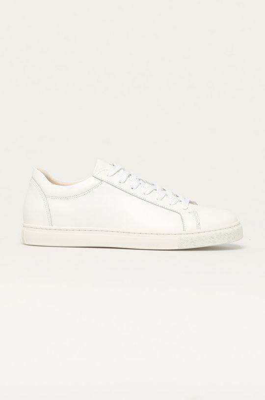 biały Selected - Buty skórzane Męski