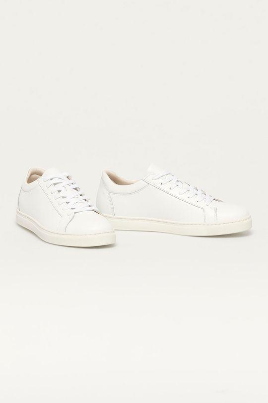 Selected - Buty skórzane biały